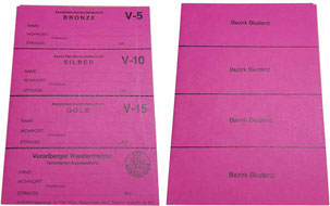 Stempelkarte Vorarlberg