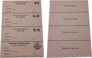 Stempelkarte Salzburg