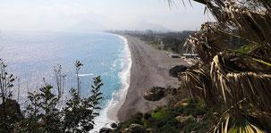 Antalya Beach, Strand von Antalya