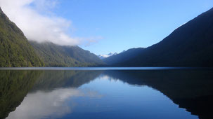 Mirror Lakes, Milford Road