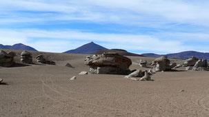 Desierto Salvador Dali, altiplano Bolivia