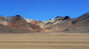 Montana siete colores, altiplano Bolivia
