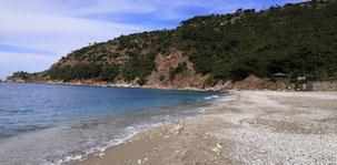 Faralya to Alinca, Kabak Beach