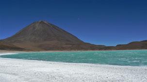 Laguna Verde, altiplano, Bolivia