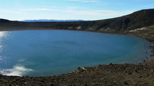 Tongariro National Park, Blue Lake