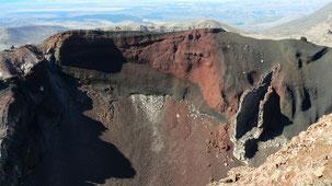 Tongariro National Park, Red Crater