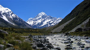 Mount Cook, Mount Cook Valley