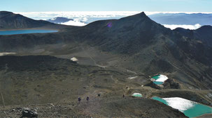 Tongariro National Park, Emerald Lakes