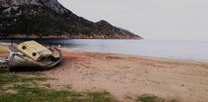 Adrasan Beach, Strand von Adrasan