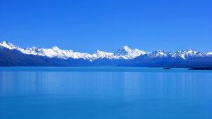 Lake Pukaki, Mount Cook