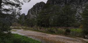 Adrasan to Cirali, Olympos Park