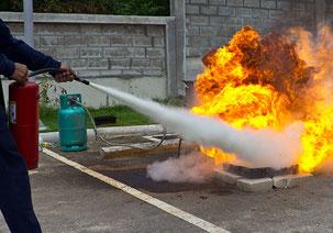 Schulung Brandschutzhelfer