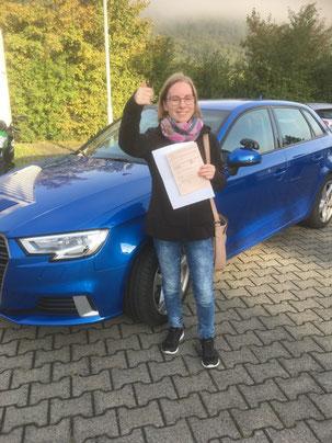 Linda Anders, Autoführerschein