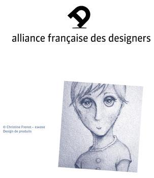 Dessin réalisé à la mine de plomb sur papier, exposé à la biennale internationale de St Etienne, Cité du Design, France 2010