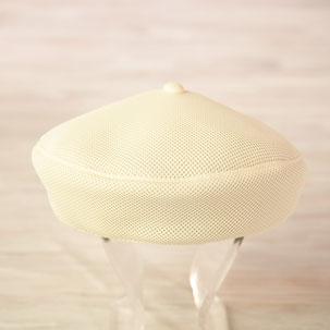 洗えるベレー帽 オフホワイト