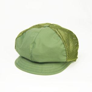 登山帽 カーキ