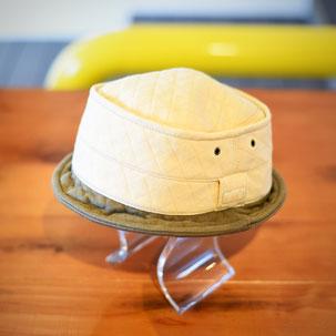 富山 帽子 キルトハット