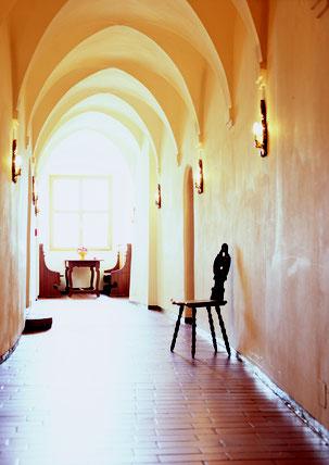 Gotischer Flur © Sonnenburg