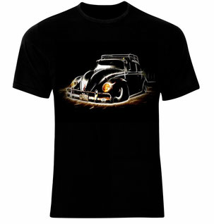 VW Deep,dub,low,tiefer Käfer T-Shirt