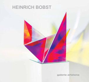 Heinrich Bobst -  Ausstellungskatalog 2018 - galerie artziwna