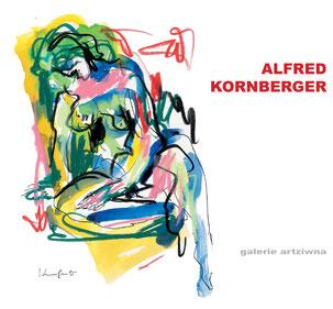 Kornberger Alfred Ausstellungskatalog 2018 - galerie artziwna