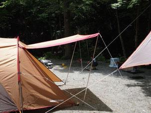 テント キャンプ 収納