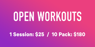 Open Workout Rates
