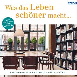 Callwey Buchkatalog, Leben - Wohnen - Garten