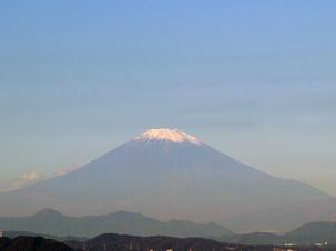 晴れた日には鎌倉山から富士山も見える