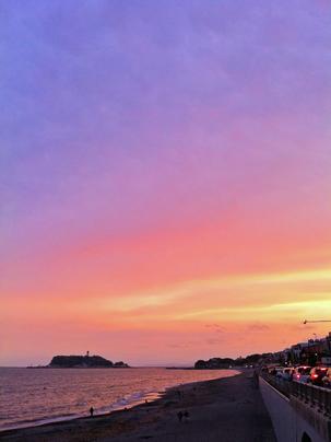 湘南のシンボル的な存在、江ノ島