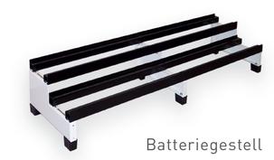 Batteriegestell Solarenergie Stromspeicher SOLARA