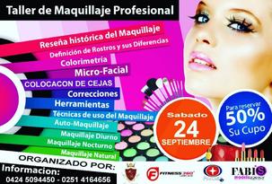 Expo Moda Lara - Taller de Maquillaje Profesional