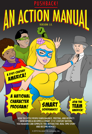 The Action Manual's front cover