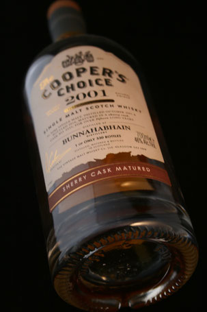 Bunnahabhain 2001 / 2016 The Cooper's Choice Flasche