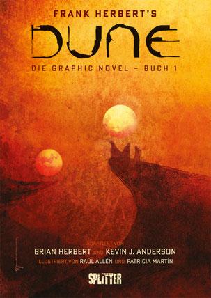 """Cover """"Dune - Buch 1"""" gezeichnet von Bill Sienkiewicz"""