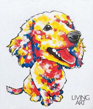 ペットの似顔絵 愛犬 記念品 贈り物 似顔絵 モダン