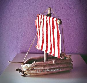 maderas del mar, maderasdelmar.com, barco madera de mar, barco vikingo