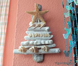 maderas del mar, maderasdelmar.com, arbol navidad