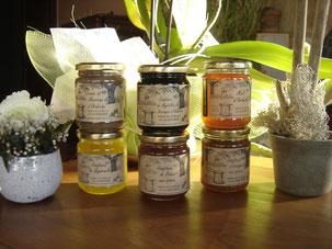 Confitures gourmandes et artisanales d'Ardèche