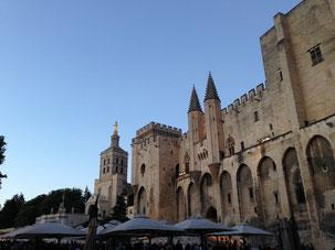 Palais des Papes, Avignon, Festival