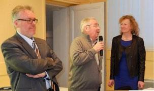 M. Greffin reçoit Benoit Jeanne et l'association à Sallenelles