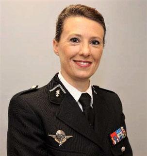Colonelle Valérie Lefèvre.