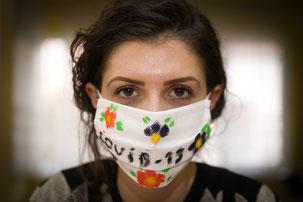 mascherine di protezione vs. covid 19 e problemi della pelle irritazioni