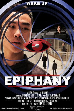 Epiphany Poster, Sebastian Schnabel, Jiageng Guo, Addison Galagan, Short Film