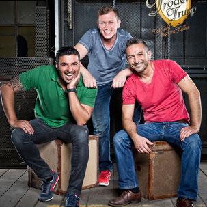 Frühchen-Botschafter RTL 2 Trödeltrupp, Sükrü, Otto und Mauro, Elternkreis Frühgeborene und kranke Neugeborene Mannheim e.V.
