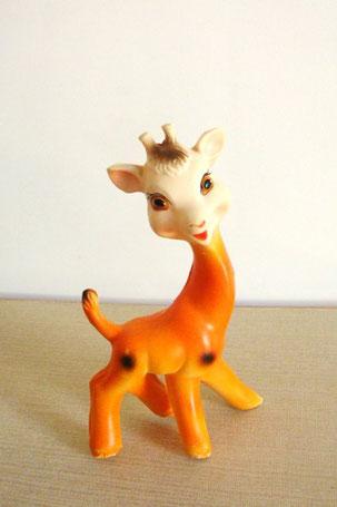 girafe jouet Pouet vintage
