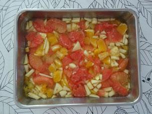 果肉たっぷりゼリー 作ってみました。