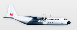 Robust and still reliable despite its age – Hercules freighter operated by First Air  /  source: First Air