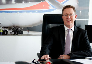 CEO Dirk Reich of CV is urging his personnel to react adequately to the changed cargo environment  /  source: CV