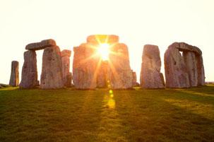 (Das Wunder von Stonehenge ca. 3100 v. Chr. erbaut)